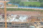 Основные этапы строительства многофункционального комплекса Газпром Центр