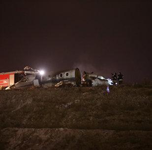 Частный самолет разбился в аэропорту Ататюрка в Стамбуле