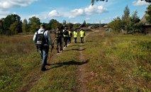 Поисковые мероприятия в Беловежской пуще проводят волонтеры ПСО Ангел
