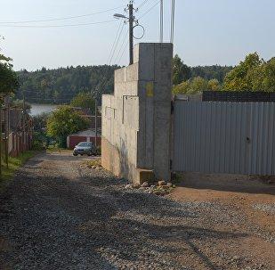 Строительство особняка Михаила Грабовского в деревне Волковичи