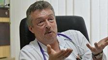 Заведующий приемным отделением 3-й детской больницы Минска Дмитрий Чеснов