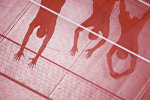 Волейбол, архивное фото