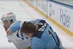 Видеофакт: драка Демидова и Скилли на матче КХЛ