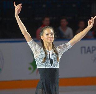 Станислава Константинова (Россия) заняла третье место в женском одиночном катании