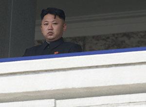 Высший руководитель КНДР Ким Чен Ын, архивное фото