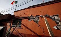 Последствия землетрясения в Мексике, архивное фото