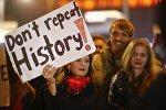 Демонстрации после выборов в Германии