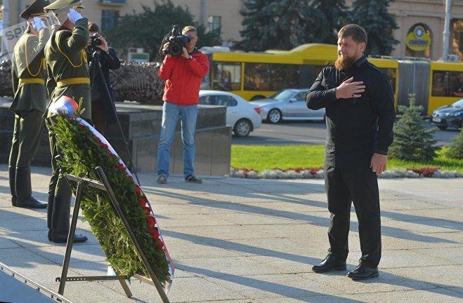 Кадыров протестировал белорусский автобус МАЗ испорткар: «Это великий завод-гигант!»