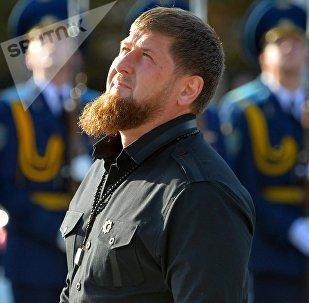 Рамзан Кадыров в Минске