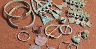 Знаходкі на раскопках у Шэкшова