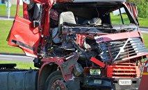 Последствия ДТП на Логойском тракте