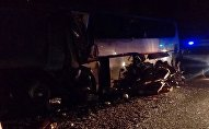 На Кубани автобус с паломниками врезался в грузовик