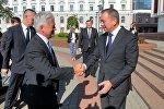 Встреча главы МИД Беларуси Владимира Макея и министра по делам Европы и Америки МИД Великобритании Алана Дункана
