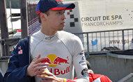 Российский пилот Toro Rosso Даниил Квят