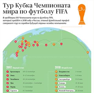 Тур Кубка Чемпионата мира по футболу FIFA – инфографика на sputnik.by