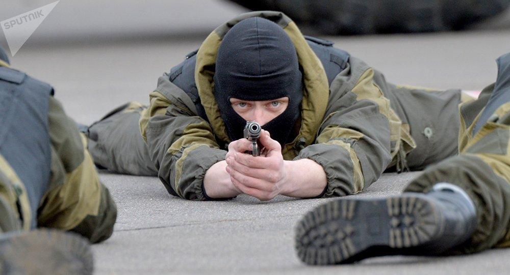 Русские спецназовцы прибыли вБеларусь для участия в общих учениях