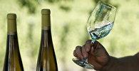 Белое сухое вино, архивное фото