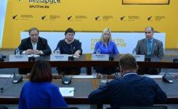 Пресс-конференция, посвященная проблеме детских площадок