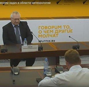 Расійскі навуковец Мікалай Гевак у ММПЦ Sputnik