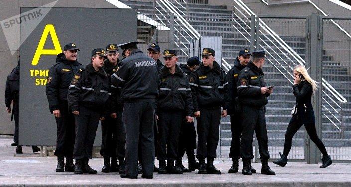 Борисов-Арена. Инструктаж перед матчем БАТЭ-Рома