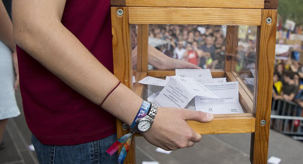 Референдум вИспании: гвардия конфисковала практически  3 млн бюллетеней