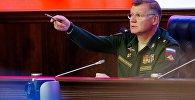 Официальный представитель министерства обороны РФ генерал-майор Игорь Конашенков, архивное фото
