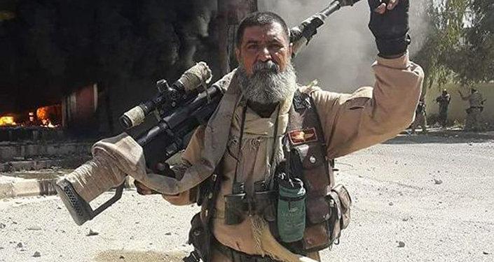 Снайпер Абу Тахсин ас-Салихи
