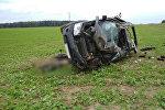 В Вороновским районе перевернулся Land Rover: погибли два человека