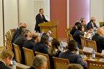 Министр иностранных дел Беларуси Владимир Макей на Первой конференции почетных консулов Беларуси