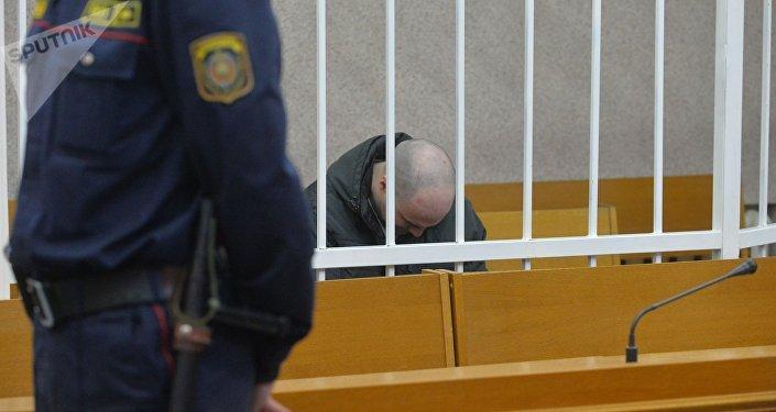 В зале суда по делу об убийстве Татьяны Курсевич