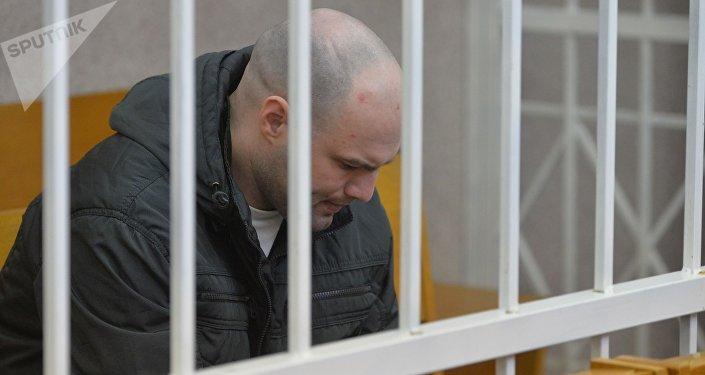 Обвиняемый в убийстве Татьяны Курсевич Евгений Раздуев