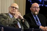 Два из трех обладателей Нобелевки по физике - Райнер Вайс и Кип С. Торн