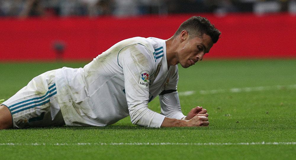 Португальский футболист мадридского Реала Криштиану Роналду