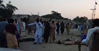 Место происшествия в Пакистане