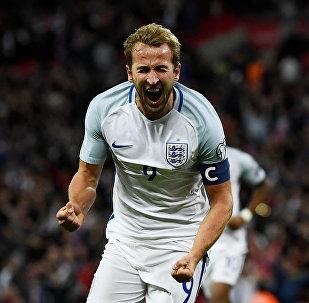 Капитан сборной Англии по футболу Харри Кейн