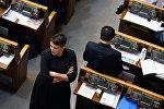 Депутат Верховной рады Надежда Савченко, архивное фото