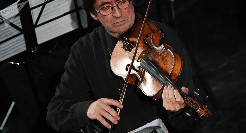 Дырыжор і музыка Юрый Башмет