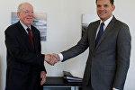 Встреча Юрия Амбразевича с заместителем Генерального директора Всемирной торговой организации (ВТО) Аланом Вулффом