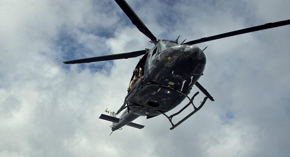 Шесть человек погибли при крушении военного вертолета вМексике