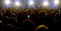 Минская публика на концерте, архивное фото