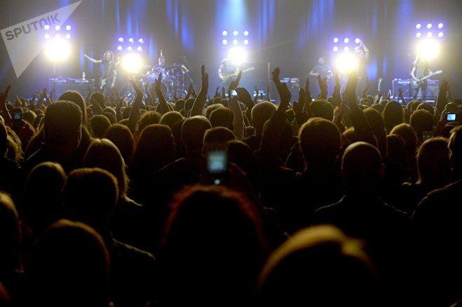 Минская публика на концерте Стинга