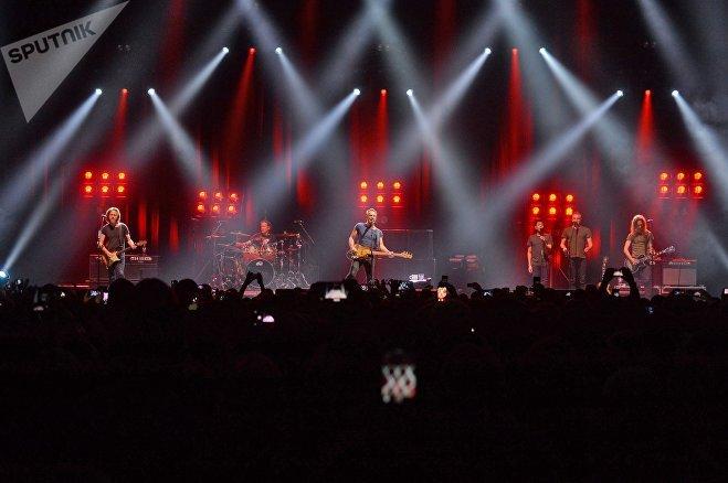Во время концерта Стинга в Минске