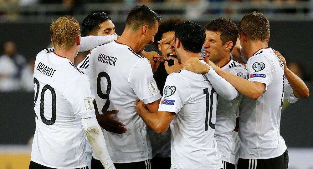 Сборная Германии разгромила команду Азербайджана вматче отбораЧМ