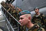 Белорусские десантники, архивное фото