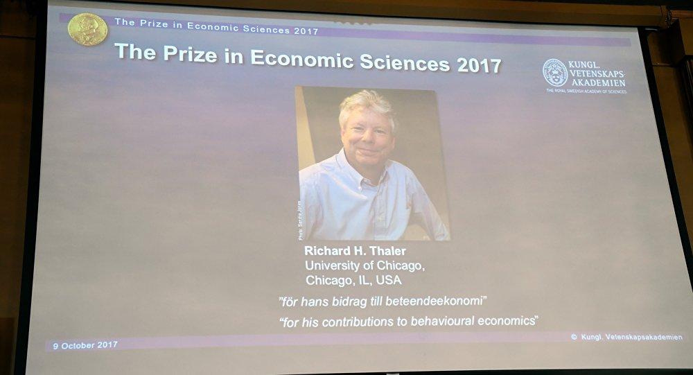 Эканаміст Рычард Талер атрымаў Нобелеўскую прэмію па эканоміцы