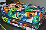 Багаж в аэропорту, архивное фото