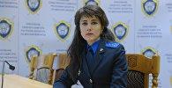 Официальный представитель Следственного комитета по Минской области Татьяна Белоног