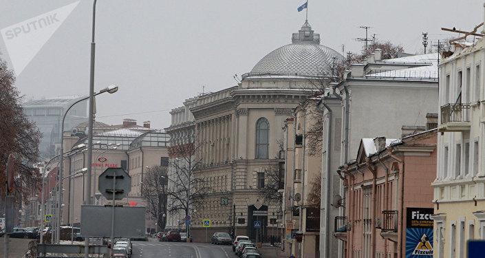 Здание Исполкома СНГ в Минске, архивное фото