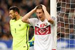 Нападающий белорусской сборной по футболу Антон Сарока