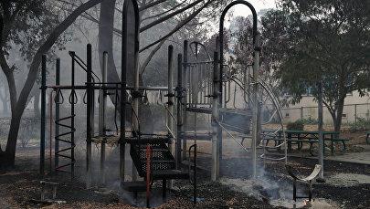 Пожары в Калифорнии, архивное фото